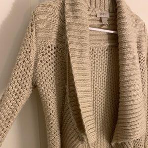Drapey knit cardigan